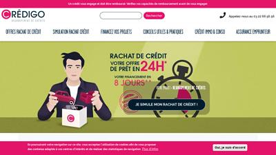 Crédigo - rachat de crédit