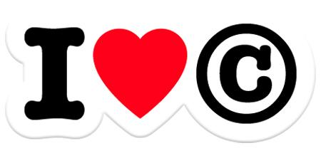 I love copyright, contre la contrefaçon