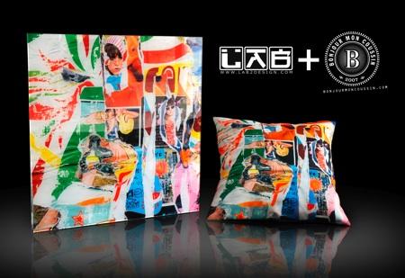 bonjour mon coussin et tableau lab2design