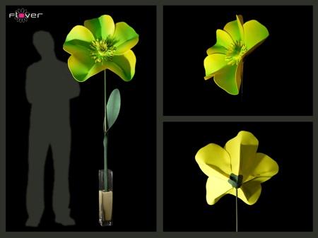 Flover, fleur géante artificielle