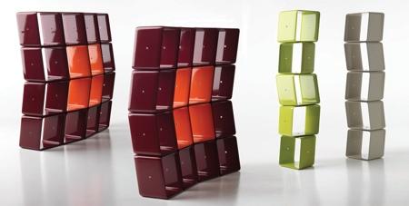 Etagère obo cubes modulables - Baleri Italia