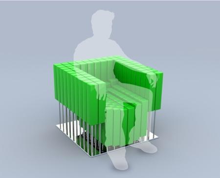 Untitled chair, un fauteuil sur mesure