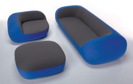 canapé et fauteuil design Nido