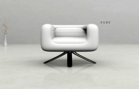 fauteuil Kube Umo Masada