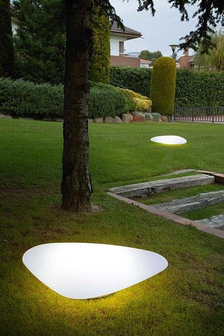 galet lumineux Stone Alma light