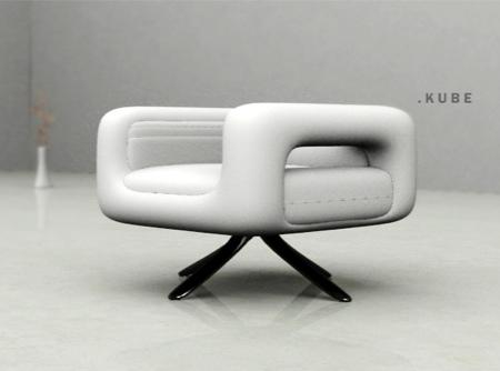 kube armchair Umo Masada