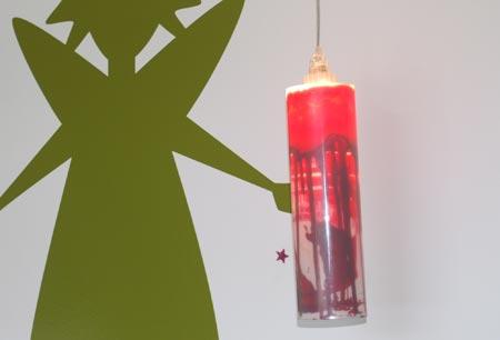 Kartouch - lampe avec une cartouche d\'encre recyclée