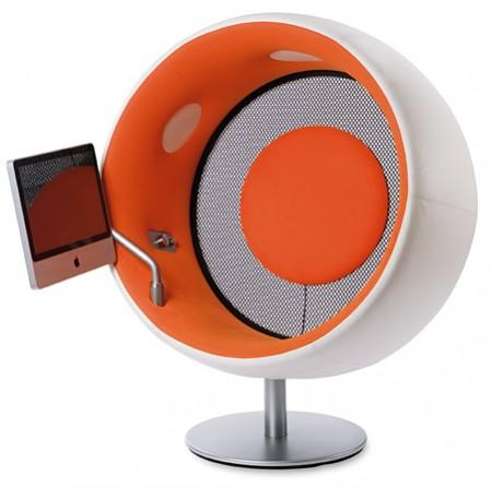 sonic chair, ball chair high tech