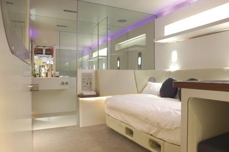 chambre cabine hotel Yotel