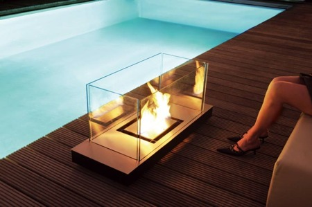 Cheminée indoor outdoor Radius uni flame