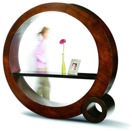 étagère ronde en bambou Bubble