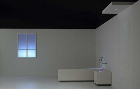 fausse fen tre lumineuse v idea. Black Bedroom Furniture Sets. Home Design Ideas
