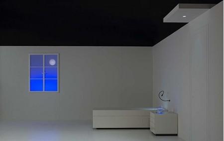 fausse fenêtre lumineuse Artemide directors room - Luca Ronconi