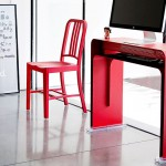 Oneless desk, bureau console design pour iMac