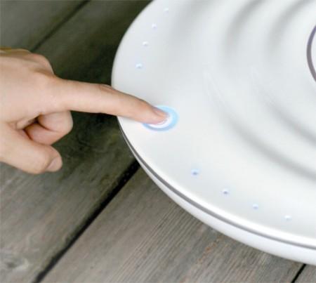 Purificateur air et eau avec fleur Oasis - Yura Lee design