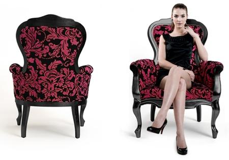 Fauteuil baroque Carla chair
