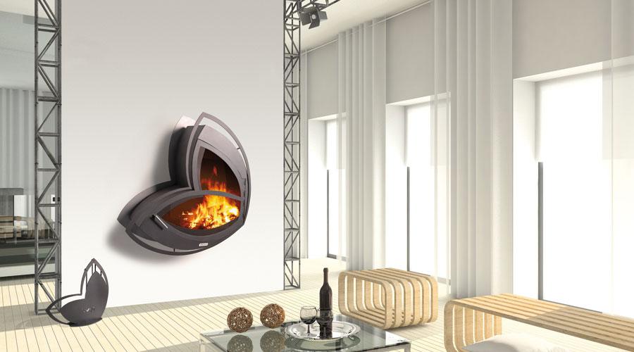 cheminee moderne pas cher. Black Bedroom Furniture Sets. Home Design Ideas