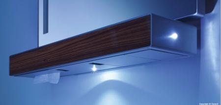 Duravit e mood meuble de salle de bain avec plateau lumineux