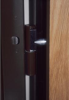 porte blindee Fichet G375 avec paumelles anti-dégondage