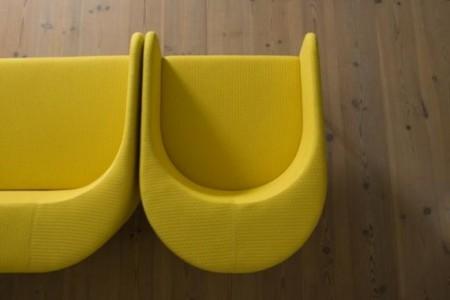2 fauteuils Kato, Kasper Salto design