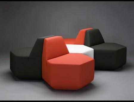 fauteuil hexagonal Sest MM interier