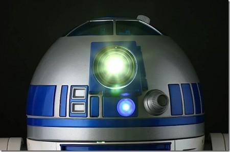 R2D2 robot de stars wars