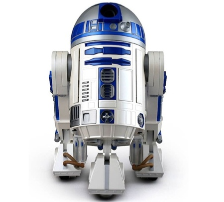 R2D2 DVD projector