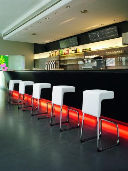 tabouret de bar design Fizz blanc