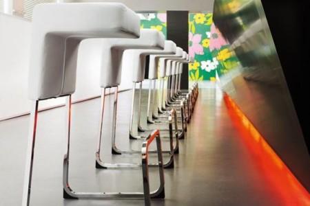 Fizz barstool design par Wiesner Hager