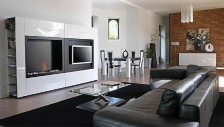 Meuble modulable fontana mobilier de france Meuble tv cheminee