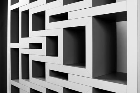 étagère extensible Rek design Reinier de Jong - Bom intérieurs