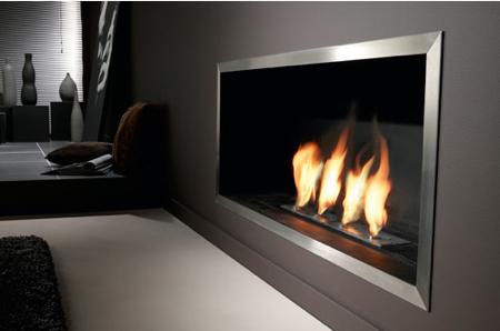 insert cheminée bio éthanol design