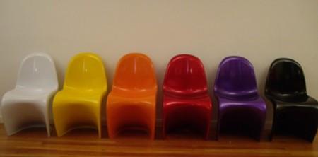 panton chair chromatique, la chaise panton de toutes les couleurs