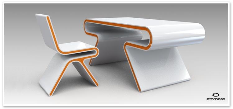 Futuristic Desk Chairs 750 x 350