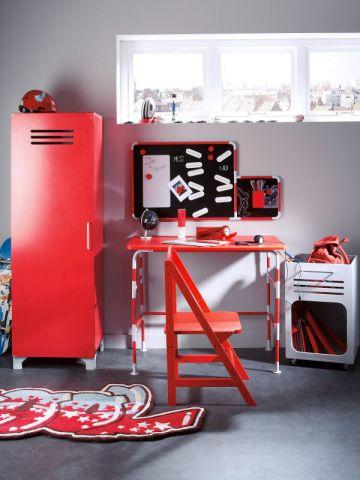 bureau enfant style chantier par Valérie Damidot pour Vertbaudet