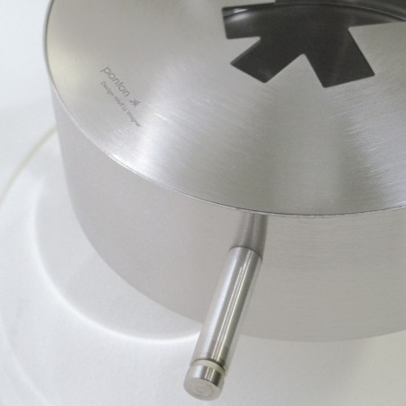 brûleur cheminée ethanol cylindrique en verre Ponton fireplace