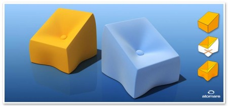 fauteuil monocub Atomare