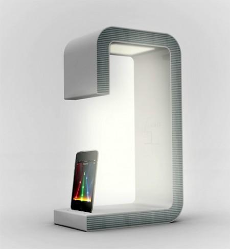ipod speaker bed light design Sang Hoon Lee