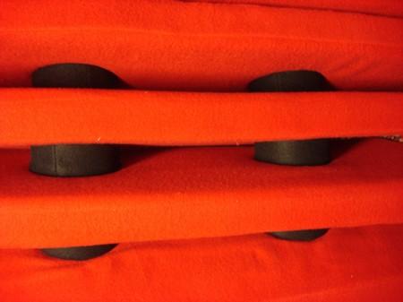 segmented chair détail de la chaise longue