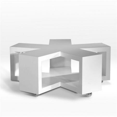 table en forme d\'astérisque Asterisk design Marc Praquin pour MyFab
