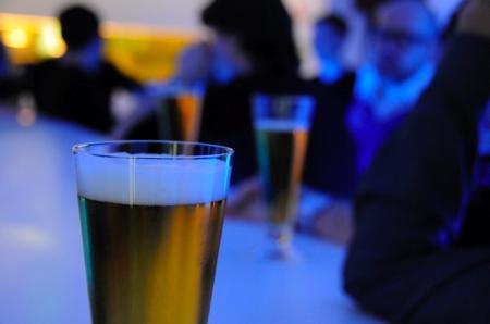 Photo d'un verre de bière