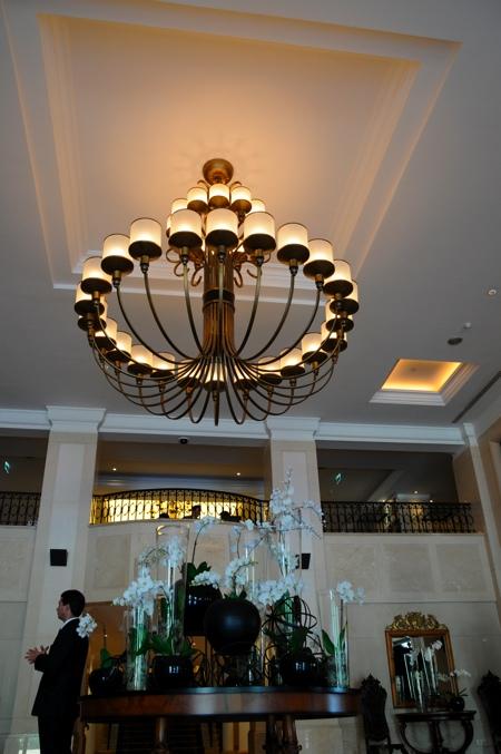 Hall de l'hotel Penha Longa au Portugal