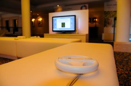 Volant mario kart Wii et Philips Aurea