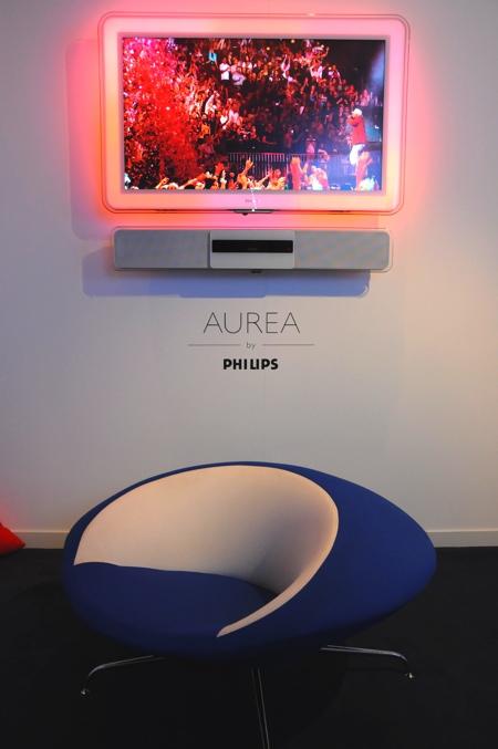 Philips Aurea et fauteuil design