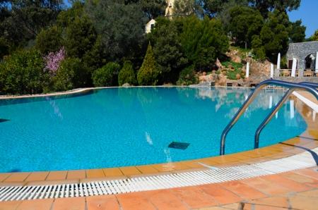 Piscine de l'hotel Penha Longa à Sintra au Portugal