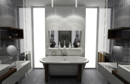 Id e d co salle de bain design for Idee deco design