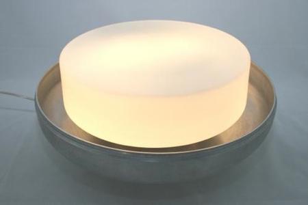 Intérieur de la lampe macaron