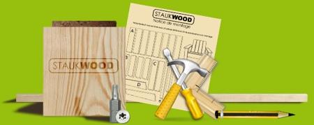 Meuble bois en kit Staukwood