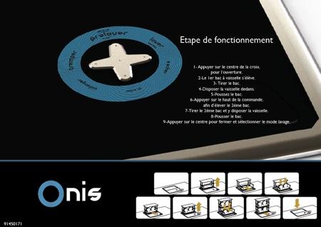 Bouton de commande Onis