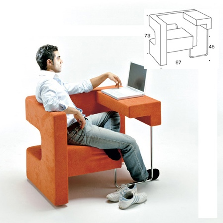 Fauteuil – meuble informatique Ordi